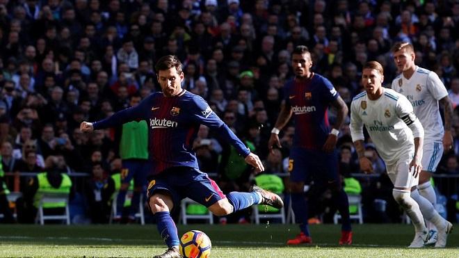 Leo Messi thực sự là cơn ác mộng của sân Bernabeu