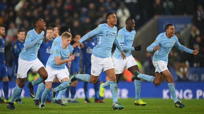 Video clip highlights bàn thắng Leicester 1-1 Man City: Đáng khen Bravo