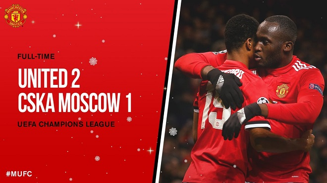 Video clip highlights bàn thắng M.U 2-1 CSKA Moskva