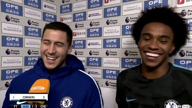 Hazard gây sốt vì nhường danh hiệu 'Cầu thủ xuất sắc nhất trận' cho đồng đội