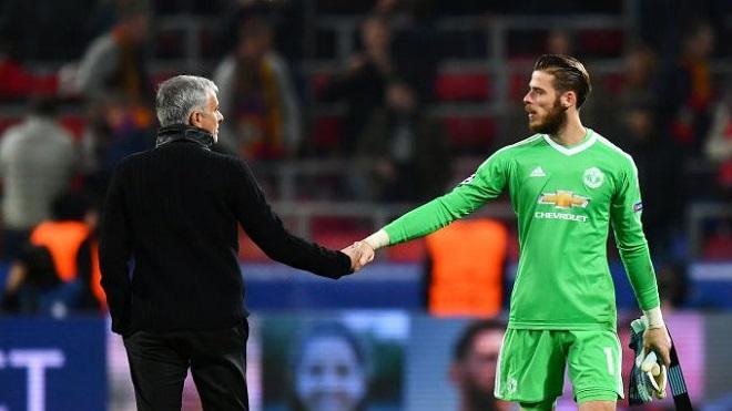 Mourinho: 'De Gea chỉ là thủ môn giỏi thứ ba ở M.U'