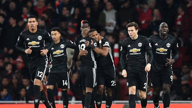 Video bàn thắng trận Arsenal 1-3 M.U