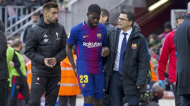 Barca mất trung vệ hay nhất mùa này ở 'Kinh điển'