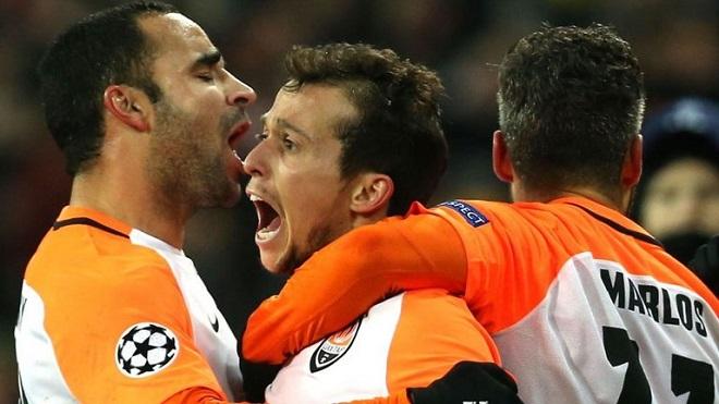 Video clip highlights bàn thắng trận Shakhtar Donetsk 2-1 Man City
