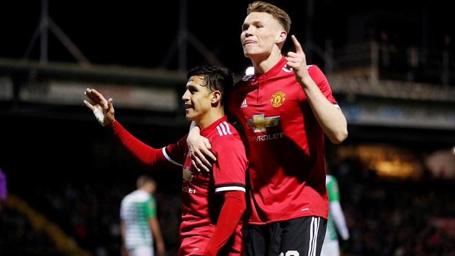 Alexis Sanchez đã ghi dấu ấn đầu tiên trong chiến thắng của M.U