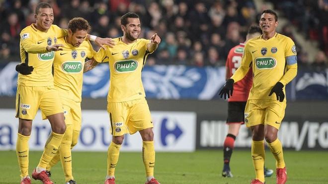 Video: Pha phản công hoàn hảo bậc nhất của PSG ở trận thắng Rennes 6-1