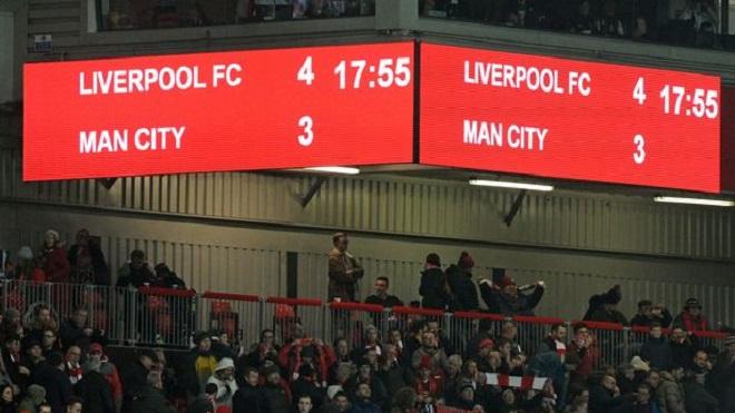 9 thống kê gây chấn động sau chiến thắng của Liverpool trước Man City