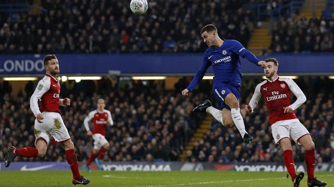Video clip highlights trận Chelsea 0-0 Arsenal