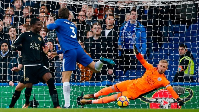 Video clip highlights trận Chelsea 0-0 Leicester