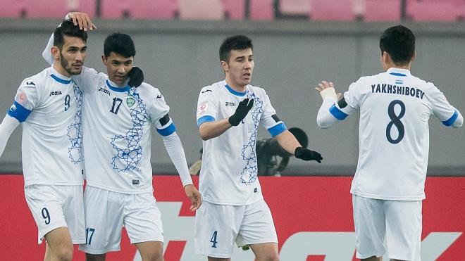 Uzbekistan: Nhanh, khéo, khỏe, cao to, phối hợp hay, sút xa tốt. Nhưng U23 Việt Nam vô địch!