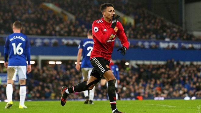 Everton 0-2 M.U: Martial và Lingard tỏa sáng, M.U giành 3 điểm trên sân khách