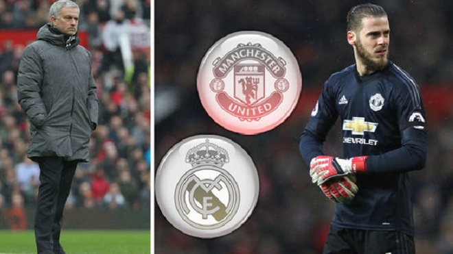 Mourinho khiến Real Madrid 'tan mộng' chiêu mộ De Gea