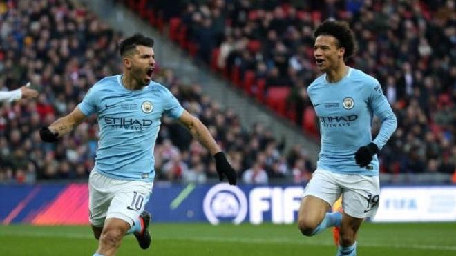 Arsenal 0-3 Man City: Aguero, Kompany và David Silva ghi bàn. Man City đoạt Cúp Liên đoàn Anh