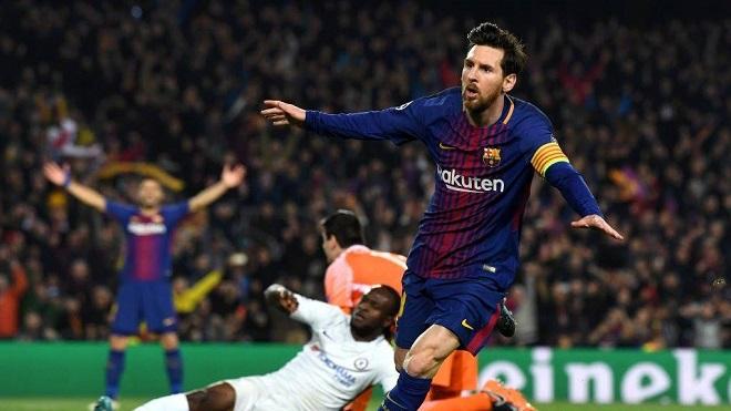 Video bàn thắng trận Barca 3-0 Chelsea (tổng 4-1): Messi hủy diệt Conte và Courtois