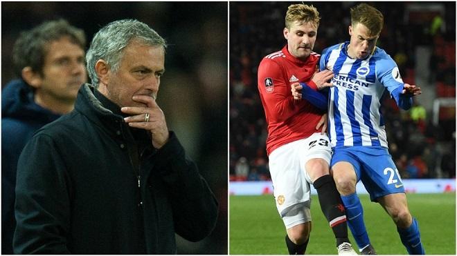 Kể từ khi đến M.U, Mourinho chê Luke Shaw nhiều hơn là khen