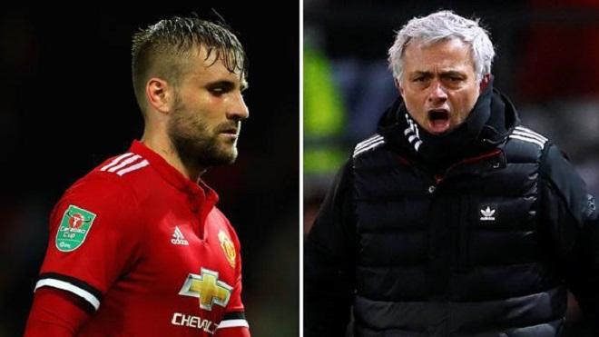 Cuối cùng, Mourinho đã thanh minh về vấn đề với Luke Shaw