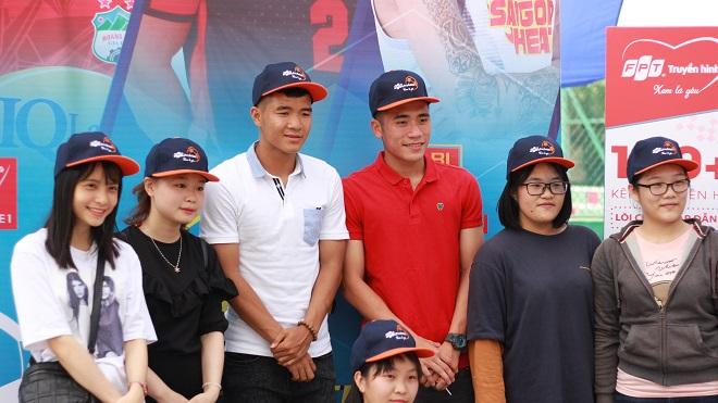 Tiến Dụng, Đức Chinh háo hức đến xem Futsal tại Đà Nẵng từ rất sớm