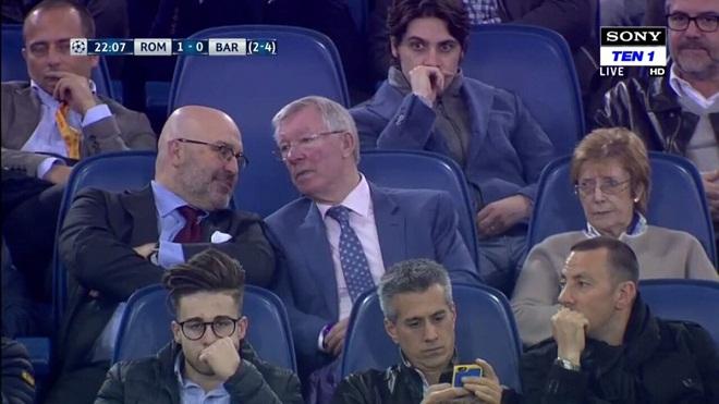 Sir Alex đã mang lại 'may mắn' cho Roma ở cuộc ngược dòng trước Barca