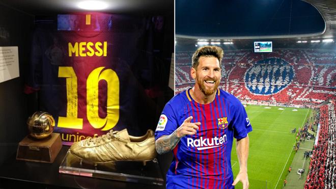 Vì sao Messi có hẳn khu riêng trong bảo tàng của Bayern Munich?
