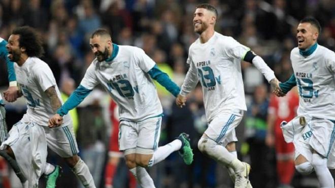 Vì sao fan Liverpool nóng mặt với màn ăn mừng của Real Madrid?