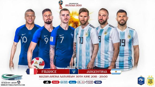 Pháp vs Argentina: Phán quyết Kante vs Messi, Argentina quá già và đại chiến trên mặt báo