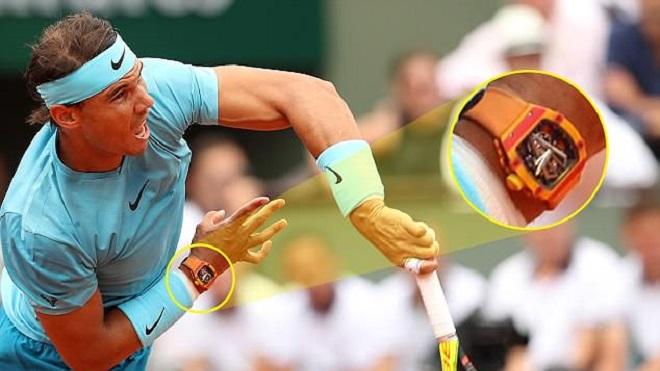 Rafael Nadal đeo đồng hồ trị giá... 16,4 tỉ đồng khi chinh phục Roland Garros