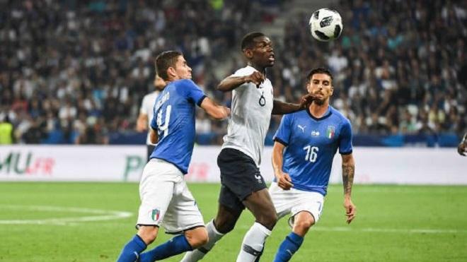 Pogba bị huýt sáo sau khi thực hiện cú sút siêu tệ trong trận thắng của đội tuyển Pháp