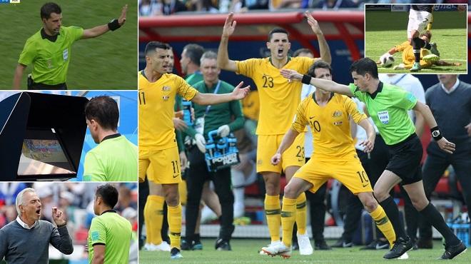 Pháp được hưởng quả penalty lịch sử ở World Cup nhờ công nghệ VAR