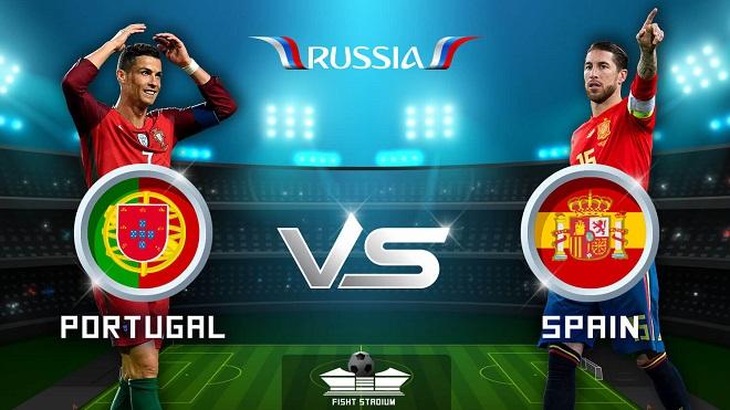 TRỰC TIẾP Bồ Đào Nha vs Tây Ban Nha (01h00, 16/6)