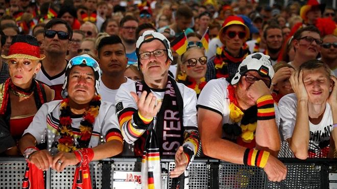 Fan bàng hoàng khi Đức lần đầu không qua vòng bảng World Cup sau 80 năm