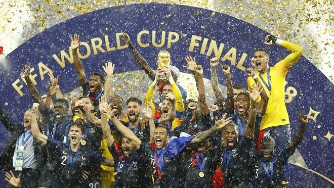 Pháp cực kỳ may mắn khi vô địch World Cup. Croatia là đội chơi tốt hơn