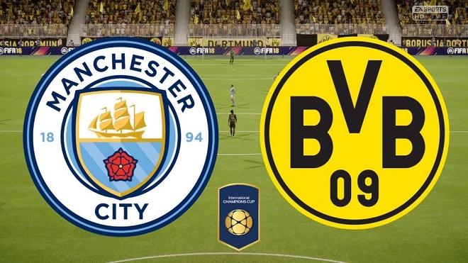 TRỰC TIẾP Man City vs Borussia Dortmund (21/07,08h05). Lịch thi đấu Man City