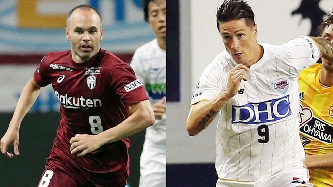 VIDEO: Iniesta và Torres cùng nhận thất bại trong trận ra mắt ở Nhật Bản