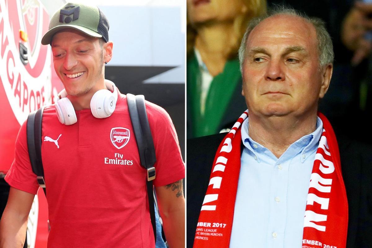 Oezil, Mesut Oezil, Oezil từ giã đội tuyển, Oezil chia tay đội tuyển Đức, Oezil bị phân biệt chủng tộc, Uli Hoeness, Bayern Munich