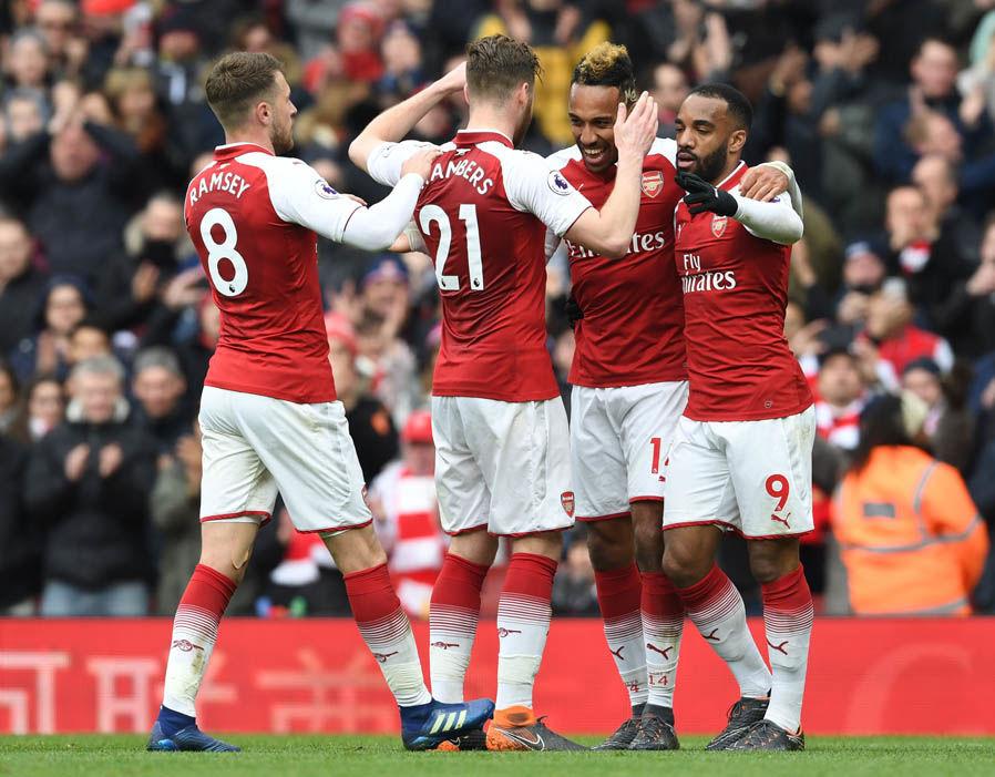 +Lịch thi đấu giao hữu Hè 2018 của Arsenal (giờ Việt Nam)
