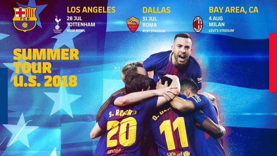 + Lịch thi đấu giao hữu Hè 2018 của Barcelona (giờ Việt Nam)