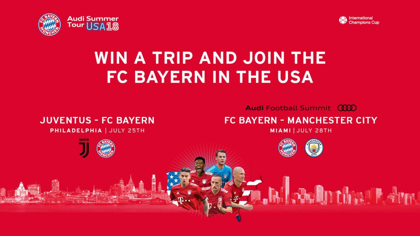Lịch thi đấu giao hữu Hè 2018 của Bayern Munich (giờ Việt Nam)