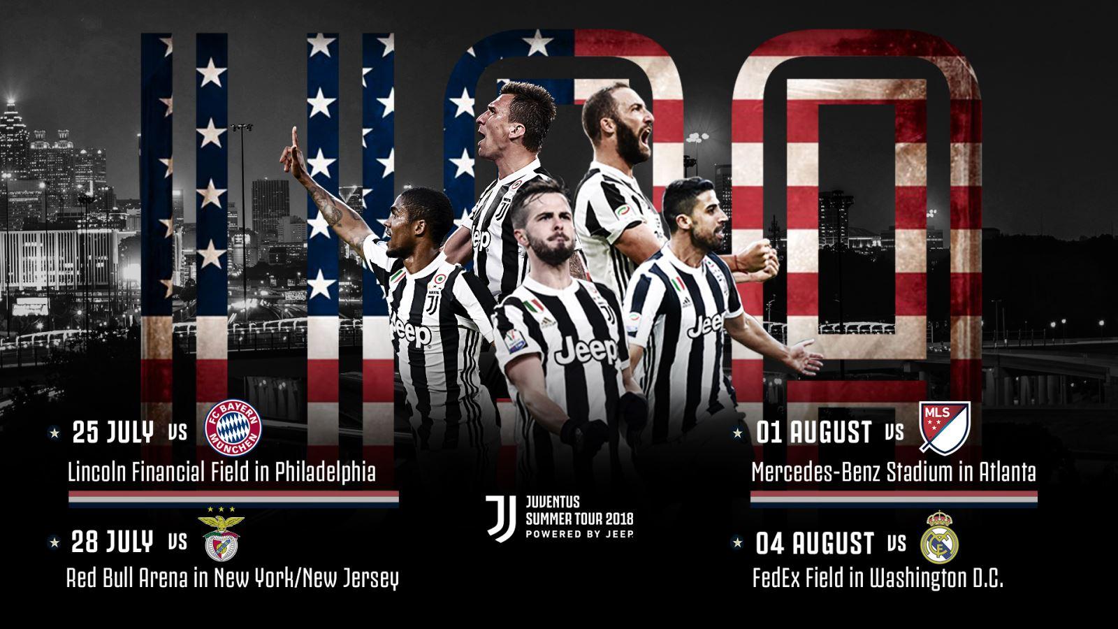 + Lịch thi đấu giao hữu Hè 2018 của Juventus (giờ Việt Nam)