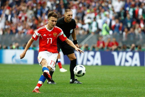 Top cầu thủ chạy nhanh nhất ở World Cup 2018