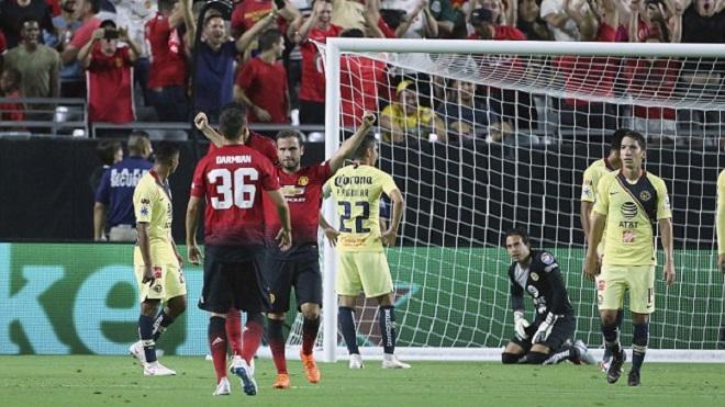 Video highlight bàn thắng M.U 1-1 Club America: Mata lập công trên đất Mỹ