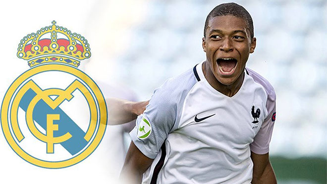 Sau Neymar, Real Madrid tiếp tục phủ nhận thông tin mua Mbappe