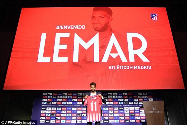 Thomas Lemar gia nhập Atletico Madrid, Thomas Lemar, Arsenal, Atletico Madrid, Liverpool, chuyển nhượng, Thomas Lemar từ chối Arsenal.