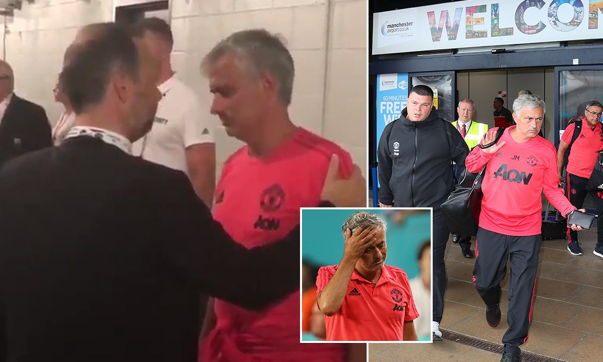 Bằng chứng cho thấy mối quan hệ căng thẳng của Mourinho với Ed Woodward