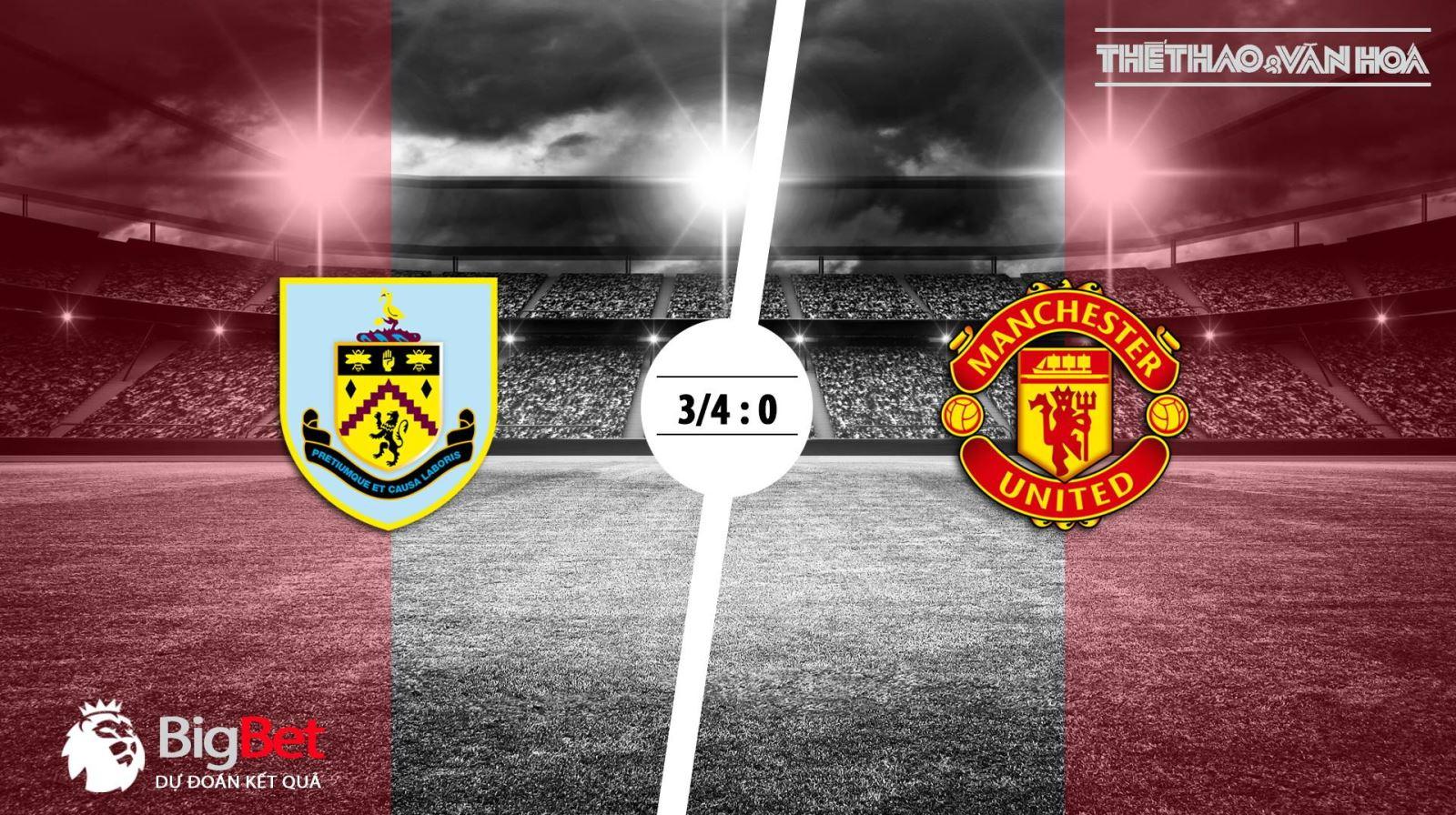 Soi kèo vòng 4 giải Ngoại hạng Anh: Burnley – Man United (23h00 ngày 2/9)