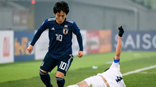 4 cầu thủ U23 Nhật Bản đáng chú ý ở ASIAD 2018 mà U23 Việt Nam phải dè chừng