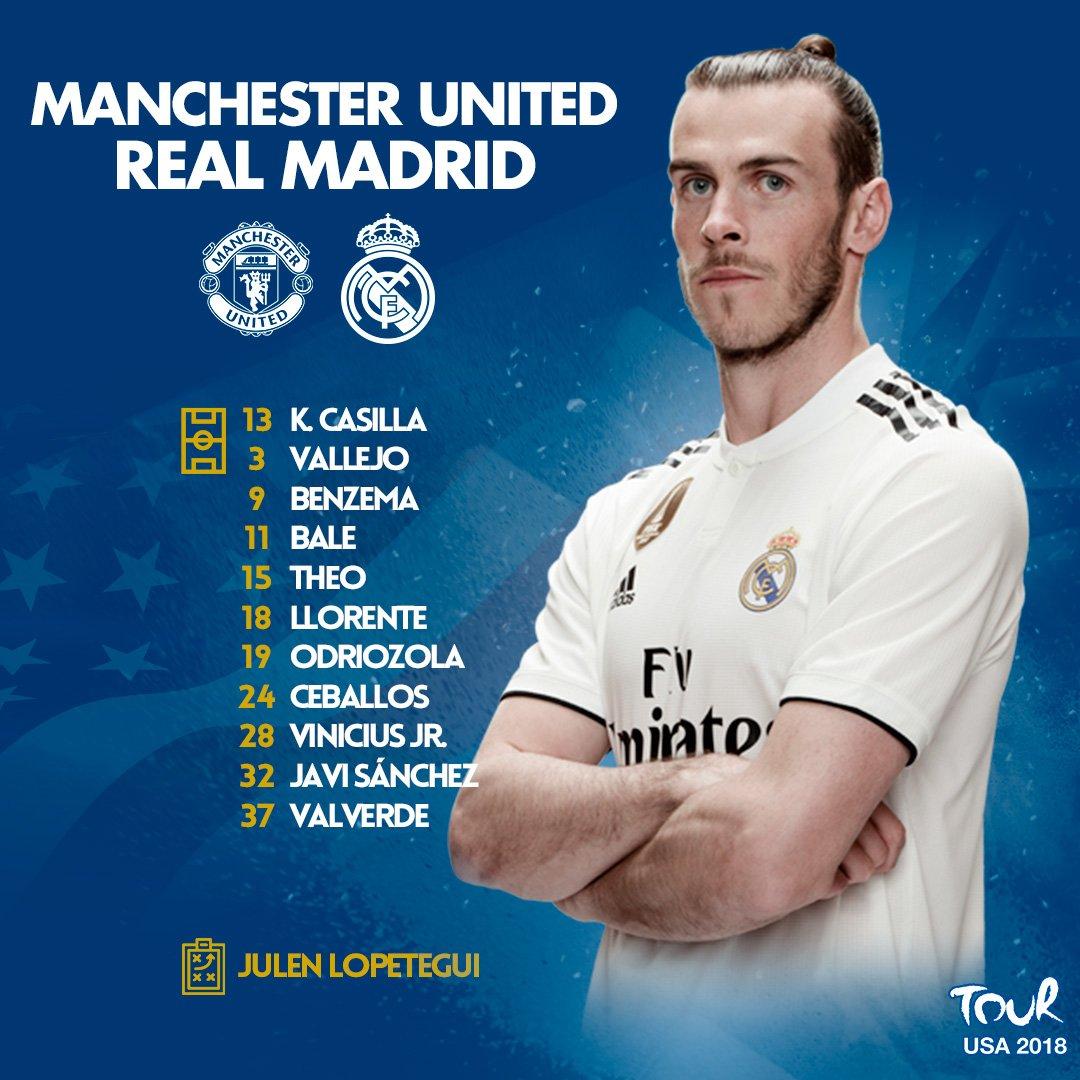 Trực tiếp M.U vs Real Madrid
