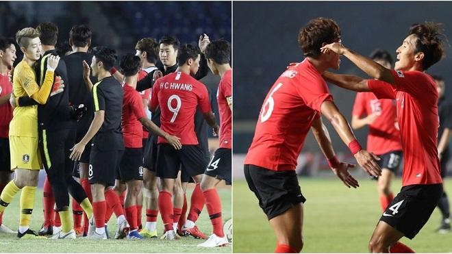 U23 Hàn Quốc thắng hủy diệt ở ASIAD 2018, CĐV quê nhà phấn khích tột độ