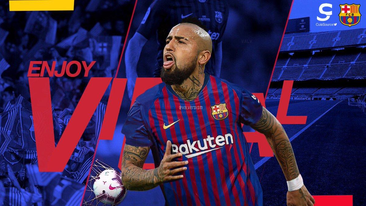 CHUYỂN NHƯỢNG Barca: Arturo Vidal kí hợp đồng 3 năm với Barca