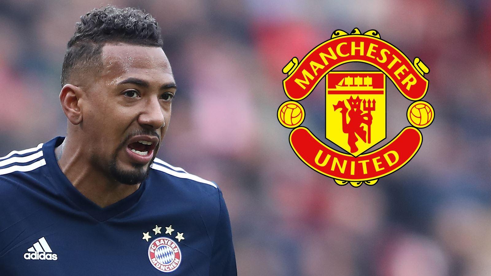CHUYỂN NHƯỢNG M.U: M.U đàm phán với Bayern Munich về Jerome Boateng