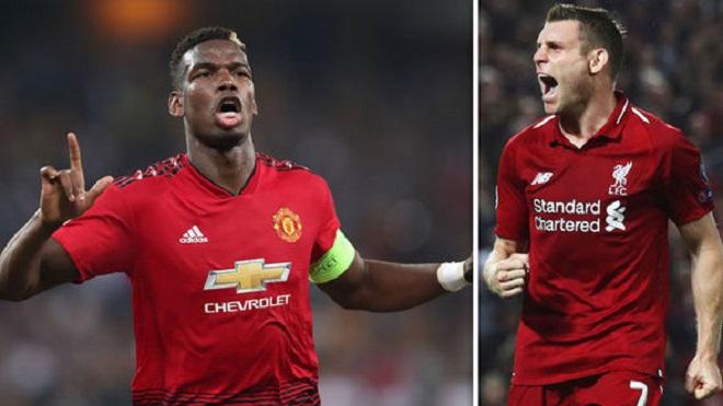 Cựu danh thủ Liverpool dùng James Milner để chỉ trích Pogba